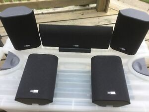 Set of Five Speakers