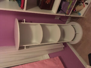 Rotating dress up storage/Mirror. $50