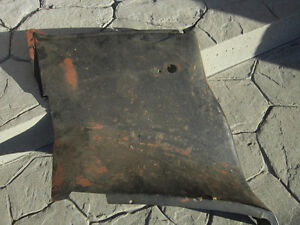 1965 1966 Mustang Coupe Rear Interior Steel Quarter Panels