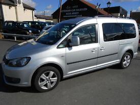 2012 Volkswagen Caddy Maxi C20 Life TDI Diesel MPV WAV * Only 40K Miles *