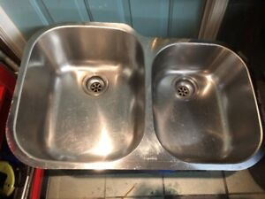 Lavabo Double en Stainless / Stanless Steel Double Sink