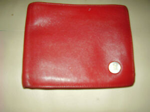 Waterman Paris Luxury Leather Wallet Rare Men's