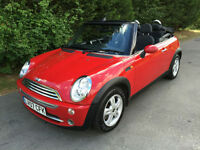 2007 - MINI ONE CONVERTIBLE 1.6 PETROL - ONLY 82,696 MILES