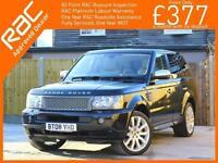 2008 Land Rover Range Rover Sport 3.6 TDV8Turbo Diesel HSE 4x4 4WD 6 Speed Auto
