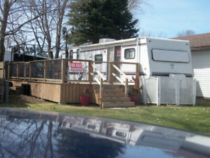 2019 FEES PAID ! Sunline 36 ft park model, everything included !