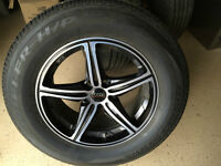 "Foose Speed wheels and Bridgestone Dueler H/P 18"" tires"