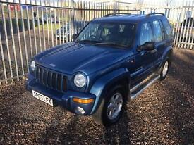 2003 JEEP CHEROKEE 2.5 CRD Limited 5dr