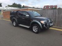 Mitsubishi L200 2.5DI-D 4WD Double Cab Pickup Animal 2007 ONLY 60K NO VAT