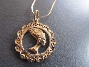 10k chain and pendant