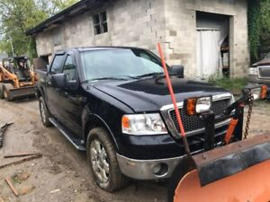 MUST BE SOLD TODAY!! '06 F-150 Lariat w/ Plow