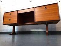 Stunning 1970s G Plan E Gomme Form 5 Desk / Dressing Table
