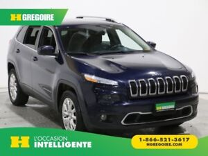 2014 Jeep Cherokee LIMITED CUIR MAGS BLUETOOTH CAMERA RECUL