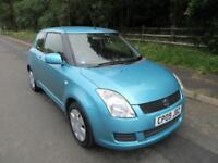 20098 '09' SUZUKI SWIFT 1.3 GL 3 DOOR HATCH IN MET TURQUOISE 84,000 MILES