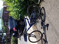 Giant Boulder DS mountain bike + 2 spare tires and tubes