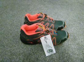 Trail running trainers, new with tags