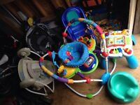 Graco car seat and other toys