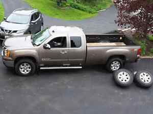 2012 GMC  SIERRA 1500 SLE EXTENDED CAB WITH ADDED  V PLOW