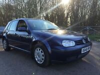 Vw golf 1.6 auto 1 owner full service