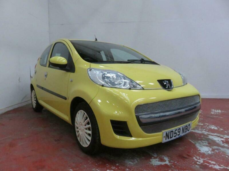 2009 Peugeot 107 1.0 URBAN Hatchback Petrol Manual