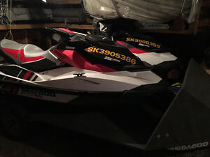 2 X 2013 Sea Doo Wake 155's