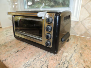 KitchenAid Toaster Oven Stainless Steel and Black