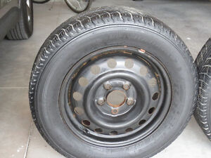 SNOW TIRES AND RIMS FOR SALE Peterborough Peterborough Area image 3