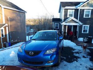 Mazda 3 2006 , 2.3 liter 4 Door