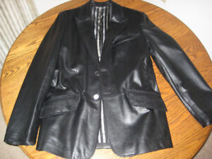 Brand New Versace Collection Leather Jacket Size 42-44