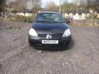 Renault Clio 1.2 Authentique 3 DOOR - 2004 54-REG - 7 MONTHS MOT