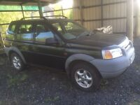 Freelander 1.8 breaking