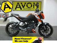 KTM DUKE 125 - 2015 - Less than 1700 miles - Dealer Warranty