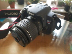 Canon T4i with 18-55 mm lens