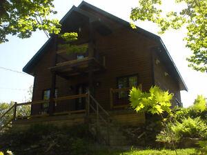 Érablière et  Maison style cottage vue sur lac! Négociable