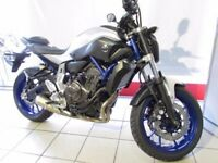 2016 Yamaha MT-07 For Sale. 2000 Miles. Data tag, ABS and Alarm included.