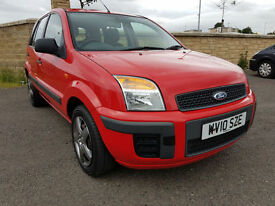 2010 - FORD FUSION 1.4 STYLE+ LOW MILEAGE, SERVICE HISTORY