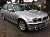 BMW 318 2.0 auto 2003MY i SE Touring COMPLETE WITH M.O.T HPI CLEAQR WARRANTY INC