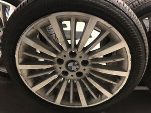 Set Mags BMW 3 Series Luxury Line 18 Runflat