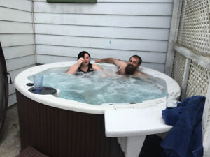 Plug and go Hot tub