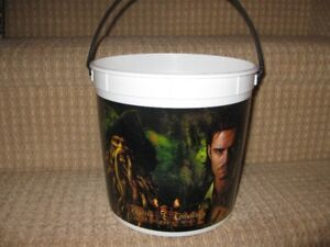 Popcorn Buckets - Pirates of the Caribbean and Narnia
