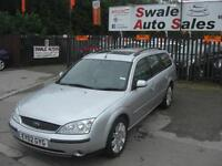 2002 FORD MONDEO GHIA X 2.0TDdi ONLY 90,638 MILES FULL SERVICE HISTORY