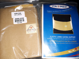 Lumbar /back support size 2x- large