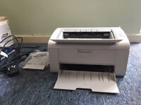 Nearly new Samsung laser printer