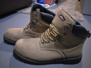 steel toe boots size 13