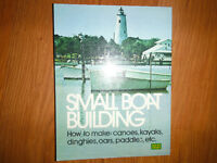 How to Build Canoes Kayaks Dinghies Oars and Paddles Book