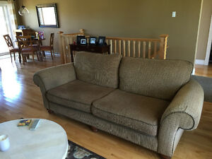Couch and chair and a half for sale in good condition