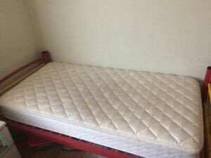 Bed With Frame And Mattress