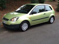 2006 1.3i Ford Fiesta facelift model full service history