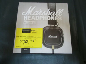 Marshall Major II Headphones For Sale At Nearly New Port Hope