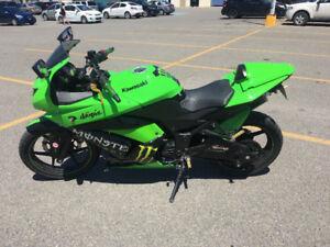 2009 Kawasaki Ninja 250, Monster Edition (9700km)