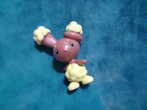 Buneary Pokémon Official Jakks Stamped Figure